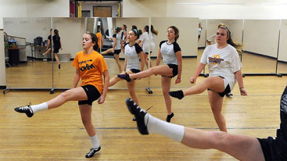 March: Dancers at the Shovlin Academy of Irish Dance in Dormont.