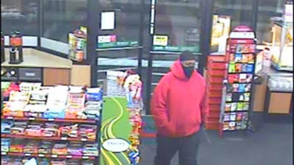 Pittsburgh police are seeking information about a suspect in the Dec. 26 robbery of a Downtown convenience store.