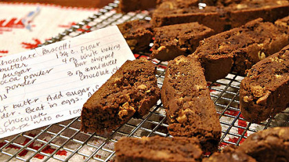 Helen&#039;s Double Chocolate Biscotti