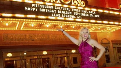 "Megan Hilty, star of NBC's ""Smash"" and a CMU grad, was featured at the Pittsburgh Cultural Trust's gala celebrating the 25th anniversary of the Benedum Center."