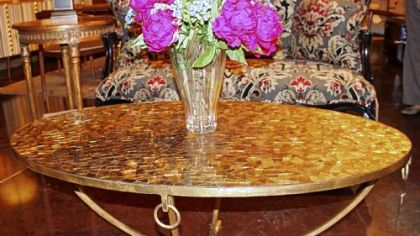 Clairval coffee table by French Heritage in 