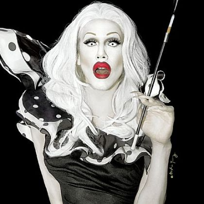 Aaron Coady as Sharon Needles.