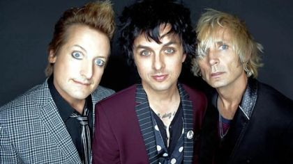 Green Day frontman Billie Joe Armstrong, center, is out of rehab and ready to roll on tour.