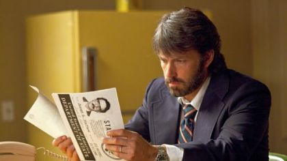 "Ben Affleck as Tony Mendez in ""Argo."""