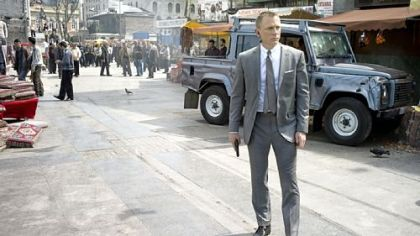 "Daniel Craig stars as James Bond ""Skyfall."""