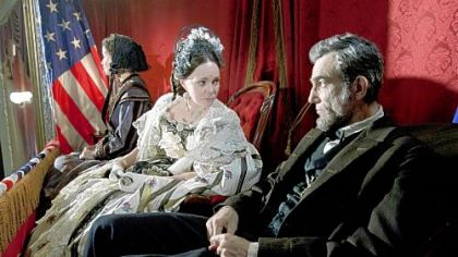 Sally Field and Daniel Day-Lewis in &quot;Lincoln.&quot;